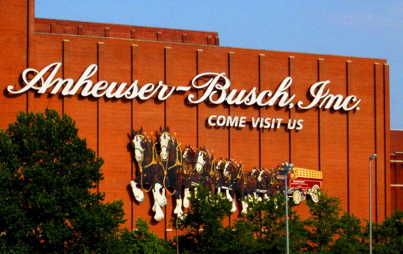 an analysis of the anheuser busch brewing company market in america Anheuser-busch is that big beer company that controls like 45 percent market share of the american beer market now the two have entered into a partnership to get office beer fridges into your workplace and then stock those fridges with bud, goose island, shock top and undoubtedly many other ab products.